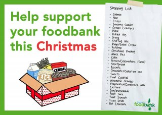 Trussell Trust Foodbank - Christmas shopping list
