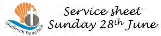 Our service this week - 28th June